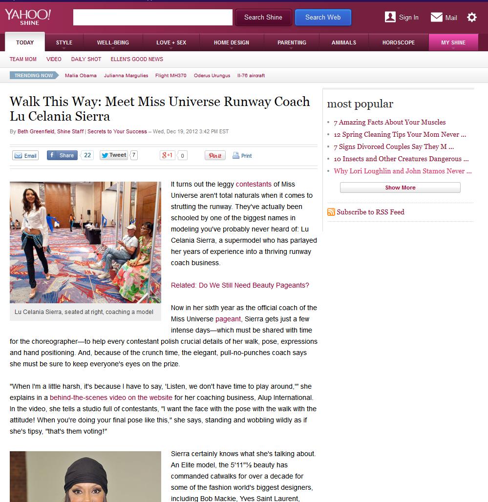 Walk This Way: Meet Miss Universe Runway Coach Lu Celania Sierra