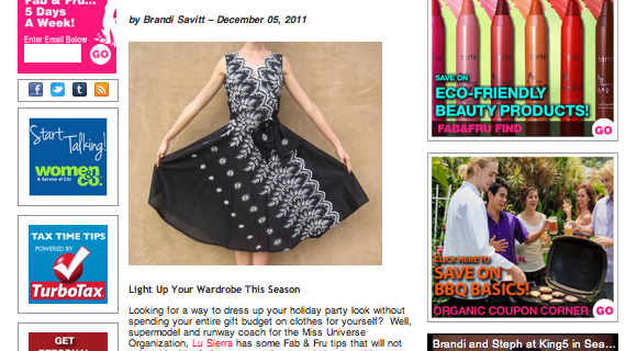 Fabulous & Frugal – Holiday Glamour on a Dime