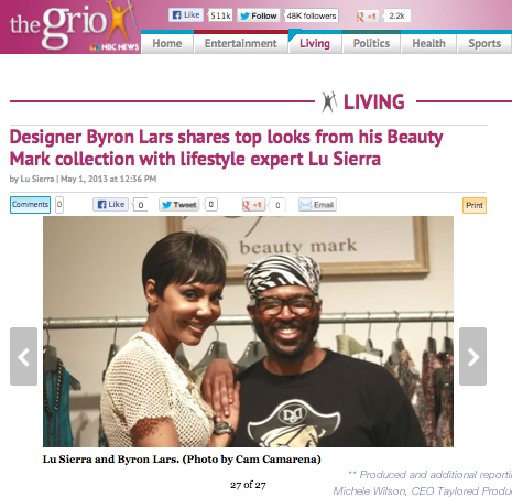The Grio – Byron Lars Story